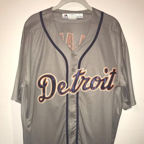 buy online 99ecd 5b5d3 Justin Verlander Detroit Tigers Jersey